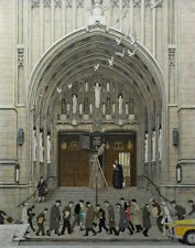 Norman Rockwell Lift Up Thine Eyes Print 11 x 14   #5318