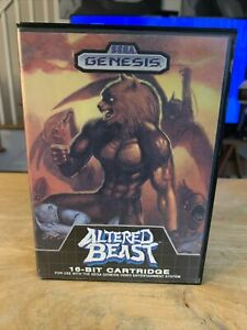 Altered Beast Authentic Sega Genesis Case Box Only No Manual No Game FREE SHIP