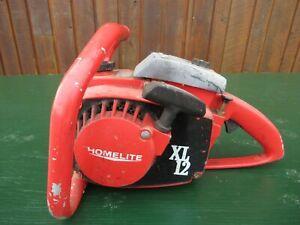 Vintage HOMELITE XL12  Chainsaw Chain Saw