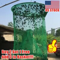 The Ranch Fly Trap Reusable Fly Catcher Killer Cage Net Trap Pest Bug Catch 2020