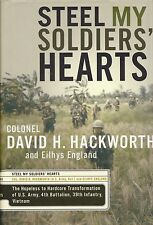 STEEL MY SOLDIERS' HEARTS: 4/39 Bn, 9th Inf, Vietnam by Hackworth HB SIGNED 1Ed