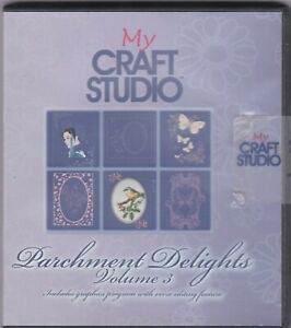 Craft Studio Parchment Delights Vol 3 Designs CD ROM=C
