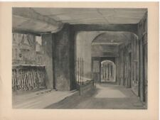 Print Row Watergate Street Chester by Sidney Causer 1947