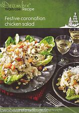 Recipe Card: Festive Coronation Chicken Salad (Waitrose)