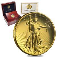 2009 1 oz $20 Ultra High Relief Saint-Gaudens Gold Double Eagle (Box & COA)