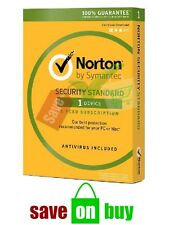 Norton Security 2018, Multi device, 1 User, 1 Year (Windows, Mac, iOS, Android)