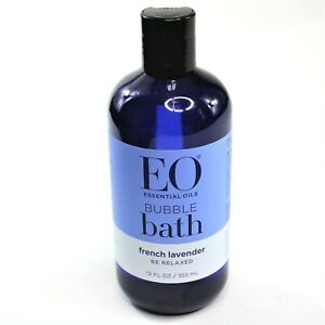 EO Essential Oils Bubble Bath French Lavender 12 FL OZ New Bottle Cruelty Free