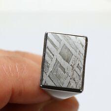part slice Adjustable ring J892 925 Sterling Silver Muonionalusta meteorite Ring