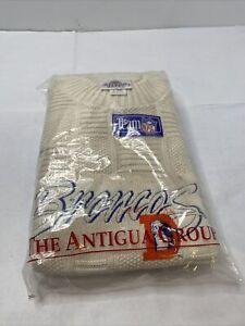 Vintage Denver Broncos X-Large Antigua Sport Sweater