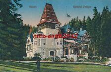 AK, grafica, Romania-Sinaia, castelui pelisor, 1917; 5026-90