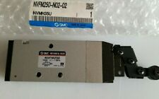 Smc Nvfm250 N02 02 Nvmh35u Mechanical Roller Pneumatic Air Valve Limit Switch