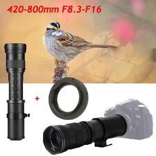 420-800mm f/8.3 Telephoto Lens for Nikon D5100 D3400 D3300 D7100 D3100 D7000 D90