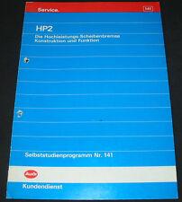 SSP 141 Audi V8 Typ D 11 / Audi 100 S4 Typ C4 HP 2  Scheibenbremse April 1992!