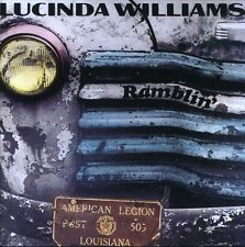Lucinda Williams - Ramblin' [New CD] UK - Import