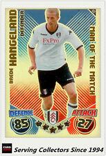 2010-11 Topps Match Attax Man Of Match Foil No 405 Brade Hangeland (Fulham)