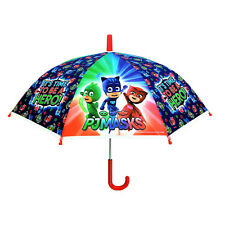 PJ Masks Childrens Umbrella KIds School Bubble Dome Brolly Gekko Owlette Catboy