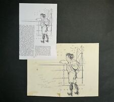 Paul Hogarth RA (1917-2000) Original drawing (Published 1959).