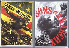 Sons of Anarchy Season 2 & 3 Genuine U.S. Retail Release DVD TV Shows NEW