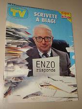 TV SORRISI CANZONI=1987/48=ENZO BIAGI=DYNASTY=TRETTRE=LUCA CARBONI=KIM BASINGER=