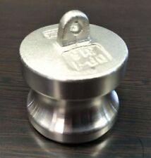 """3/4"""" Inch Camlock Fitting Type DP 316 Stainless Steel Camlock Dust Plug"""