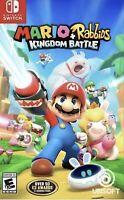 Mario + Rabbids Kingdom Battle - Nintendo Switch New Sealed