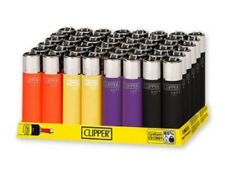 CLIPPER LIGHTER MINI SOFT TOUCH REMOVABLE FLINT LIGHTERS ( Pack Of 48 )