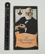 Vintage Dr. Caldwell's Pepsin Syrup Constipation Remedy Brochure Quack Medicine