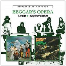 Beggars Opera Act One Waters of change 2cd Remastered 2014 * NEW