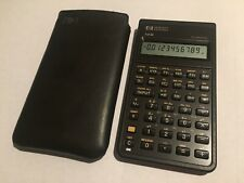 HP 10B Business Financial Calculator Vintage - Tested & Works - w/Slip Case
