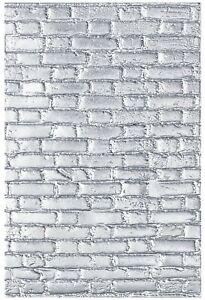 Sizzix Brickwork 3D Embossing folder #664259 Retail $9.99 designer Tim Holtz