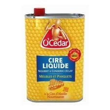 7930 - Cire liquide Antiquaire à la cire d'abeille O' Cedar 0,75L