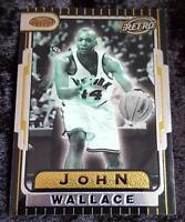 1996-97 BOWMAN'S BEST RETRO TB10 JOHN WALLACE KNICKS BASKETBALL CARD