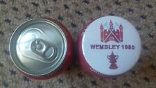 WEST HAM UNITED  FA CUP FINAL 1980 BADGE  55MM IN SIZE
