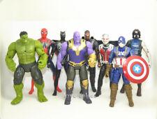 "Set 8 pcs Avengers: Infinity War Thor Hulk Spider-Man  Action Figures Toy 6"""
