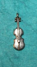 Pendant Upright Bass Charm Music Charm Fiddle Charm Country Music Charm Strings