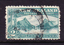 NEW ZEALAND 1898 2/- PICTORIAL LAID PAPER  FU SG 269a