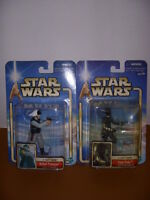 Star Wars, A New Hope, Lot of 2 Action Figures, Rebel Trooper, Djas Puhr, NIB!