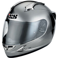 """IXS Casque HX 410 """" CHROME """" carbone kevlar fibre de verre moto taille XL 61-62"""