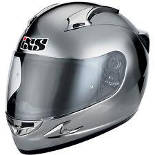 "IXS Helm HX 410 ""CHROM"" Carbon-Fiberglas Motorradhelm Gr XL 61-62"