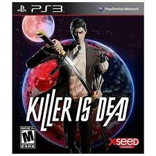 Killer Is Dead - Limited Edition (Sony PlayStation 3, 2013) PS3 - USA Seller