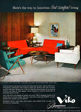 Viko Furniture Baumritter Luxurious But Carefree Living Orig. 1959 Magazine Ad