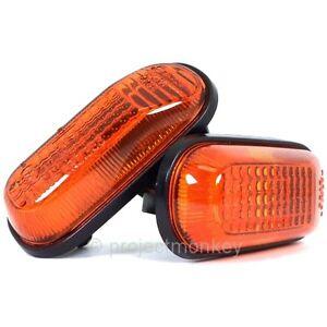 OEM Honda 00-09 S2000 Amber Orange Side Markers Sidemarkers AP1 AP2 Genuine