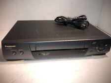 Panasonic ag-1320p Pro Line Super 4 Head Vhs Video Cassette Recorder Player
