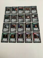 More details for star trek, blaze of glory, 1e, complete set of 40 ccg uncommon cards, from 1999