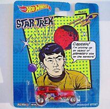SULU. Star Trek. Hot Wheels. Midnight Otto.  New in Blister Pack!