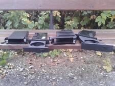 Sostenedores de taza para tablero de instrumentos bmw serie 5 E60 E61 Negro Fullset RHD Perfecto Estado