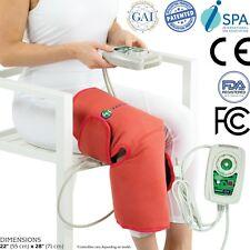 HealthyLine Amethyst Tourmaline Jade Hot Stone Heating Knee Brace Pad Infrared