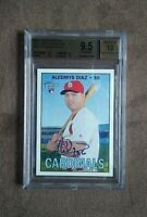 2016 Topps Heritage Real One Aledmys Diaz Auto Rookie RC BGS 9.5 Gem 10 Auto