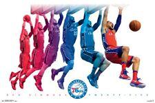 Ben Simmons Jump NBA Basketball Poster New Licensed
