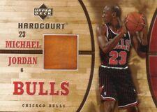 MICHAEL JORDAN 06-07 UD HARDCOURT GAME-USED FLOOR MEMORABILIA  BASKETBALL CARD